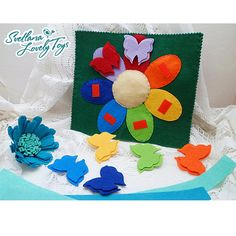 Educational Toy, busy book baby, quiet book, quiet sensory toy, felt books for toddlers, quiet book toddler the book is made of felt