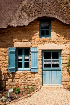 Bretagne, France - Front Doors Around the World