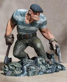 Eric Powell's 'Goon' Statue Debuts At Toy Fair 2015! :: Blog :: Dark Horse Comics