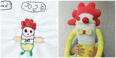 Custom Soft Doll  Design your own Zé Zezling rag doll  by Zezling