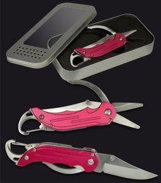 Outdoor-Tool-2-3-Funktionen-Messer-Schere-Cliphalterung