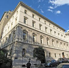 Otto Kahn Mansion - Fifth Avenue and 91st Street - today is owned by Convent of the Sacred Heart school.
