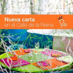 El Café de la Reina del Hotel Reina Petronila ***** estrena nueva carta. ¡¡Ven a probarla y cuéntanos qué te parece!!