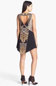 MINKPINK 'Jungle Jamboree' Print Shift Dress | Nordstrom $121.51