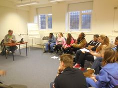 PAYP Participants during the Casting session delivered by acting agent Paul Byram.