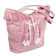 Personalised Pink Ballet Tote Bag with Ballet Pump Decoration  £24.99  This stunning pink ballet tote bag is decorated with sequins, satin and net and a pair of ballet pumps. It can also be personalised with an embroidered name. Perfect Christmas or Birthday gift for a girl who just loves ballet!