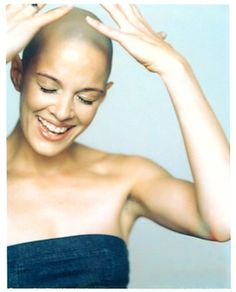 Sharon Blynn, founder of Bald Is Beautiful and now 10 years cancer free.