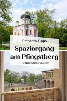 Spaziergänge in Potsdam. Pfingstberg und Stadtspaziergang. Tipps für Potsdam.