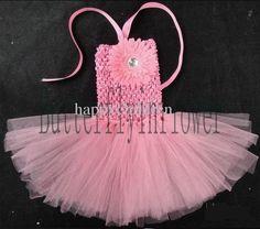 baby girls TUTU dress infant dress crochet tube top baby petit skirt tutu 4 col | eBay