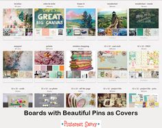 Should You Care About Pinterest Board Covers? (+ 3 ways to design your covers) http://pinterest-savvy.net/should-you-care-about-pinterest-board-covers/