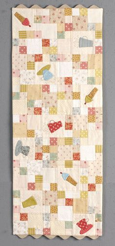 Anni Downs, Some Kind of Wonderful, tablerunner