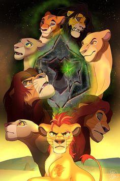 Memory of that Blood by sasamaru-lion on DeviantArt Lion King 3, The Lion King 1994, Lion King Fan Art, Lion King Movie, Simba Et Nala, Le Roi Lion Disney, Disney Lion King, Arte Disney, Angels And Demons