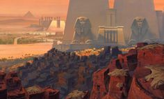 The Prince of Egypt - Paul Lasaine Layout : Mark Mulgrew / Darek Gogol