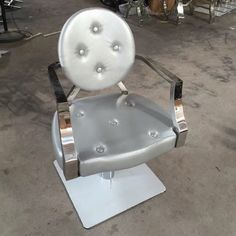 high quality modern metal barber chair lady hair salon styling chair for sale  http://www.gobeautysalon.com/product/product-92-448.html