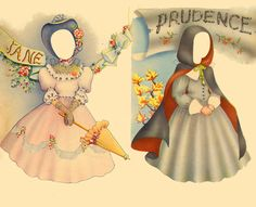 Prudence, Helene and Anne - outfits, Costume