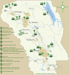 Napa Hiking Home: Your guide to Hiking and Hiking Trails in Napa Valley, Calistoga Helena, California; Devils hike looks like it may be good for kids Park Trails, Hiking Trails, Napa Valley Wineries, Napa Winery, Autumn Lake, Lake District, Wine Country, Travel Usa, Day Trips