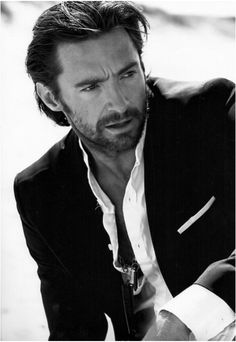 Hugh Jackman, sweet gorgeous man.  I try NOT to lust after married men...but you are the exception....  you sing, you dance, and my oh my how you fill out your pants.  (forgive me Lord!)