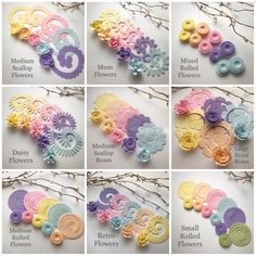 Image of Spring Fling Felt Flower Packs