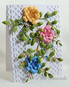 by Kittie Caracciolo........ using Memory Box Fabulous Phlox die