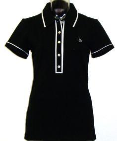 Original Penguin By Munsingwear Veronica Ladies' Black Polo Shirt    $79.00
