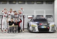 Christopher Mies, Edward Sandström, Nico Mueller and Laurens Vanthoor win for Audi Sport Team WRT