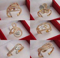 India Jewelry, Jewelry Art, Gold Jewelry, Jewelry Rings, Jewelery, Jewelry Design, Indian Wedding Jewelry, Bridal Jewelry, Gold Finger Rings