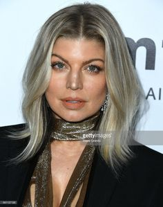 Fergie arrives at the amfAR Los Angeles 2017 at Ron Burkleâs Green Acres Estate on October 13, 2017 in Beverly Hills, Californi