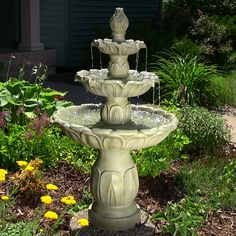 Tiered Water Fountains | Outdoor 3-Tier Fountains