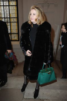 Catherine Deneuve Photos - Catherine Deneuve attends the Jean Paul Gaultier show as part of Paris Fashion Week Haute Couture Spring/Summer 2014 on January 2014 in Paris, France. - Front Row at the Jean Paul Gaultier Show Catherine Deneuve, Summer 2014, Spring Summer, January 22, Jean Paul Gaultier, Paris France, Front Row, Paris Fashion, Hollywood