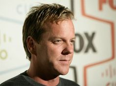 Kiefer Sutherland is sure aging nicely