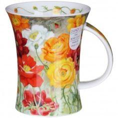 Poppy Field Yellow Richmond Shape Mug