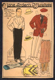 1930'S Newspaper Paper Doll