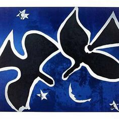 Les Oiseaux, 1953 Prints by Georges Braque Bird Prints, Framed Art Prints, Poster Prints, Georges Braque, Henri Matisse, Picasso, Art Et Illustration, Wall Art For Sale, Cool Posters