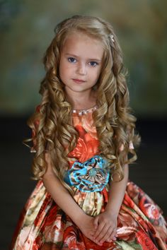 Anastasia Orub (born May 15, 2008) Russian child model. Natalia Zakonova Photography.