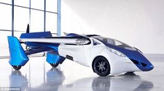 The self driving car that can also FLY - and could be on sale in 2017 #dailymail