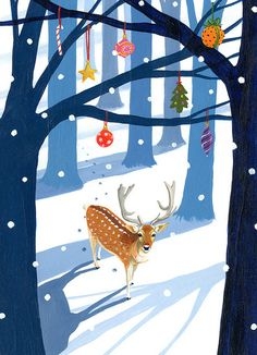 Christmas card 2012 By David Litchfield
