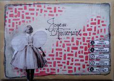 Carte réalisée par Annabel DT ISDesign http://infinimentblog.canalblog.com/archives/2015/02/01/index.html