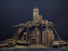 The Caretaker Theatre Scenery and Theatre Set Design Gallery