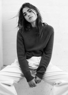 Photographed by Darren McDonald. Styled by Ilona Hamer. Hair by Koh. Make up by Giorgia Skye. Bambi Northwood-Blyth from IMG