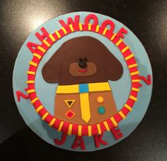 Jakes 2nd Hey Duggee birthday cake #heyduggee #cake
