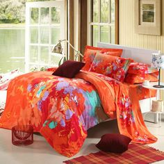 Aliexpress.com : Buy The Best Choice in the winter Pure cotton Reactive Twill Printed Sanded 4pcs bedding Sets with more comfortable,warm and soft from Reliable bedding set suppliers on Yous Home Textile $86.00 - 88.00