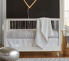 Get ready for your baby with a crib from Pottery Barn Kids. Shop high quality and safety-approved baby cribs, convertible cribs and more. Nursery Furniture Sets, Baby Furniture, Nursery Ideas, Room Ideas, Brown Crib, Modern Crib, Acrylic Furniture, Elements Of Style, Convertible Crib