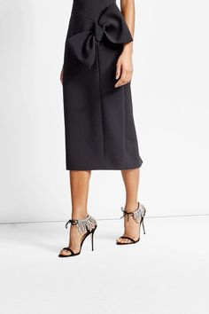 Giuseppe Zanotti Suede Sandals with Crystals