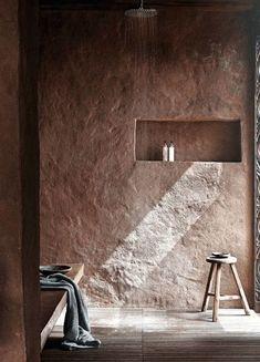 22 Wabi-Sabi Home Interior Design Ideas: Finding Beauty in Imperfection Wabi Sabi, Design Hotel, House Design, Bathroom Interior Design, Interior Decorating, Interior Architecture, Interior And Exterior, Casa Wabi, Casa Petra