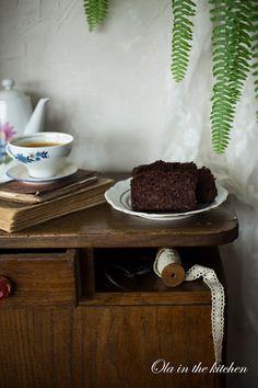 Ola in the Kitchen: Wegańskie, bezglutenowe ciasto czekoladowe Gluten Free Recipes, Vegan Recipes, Vegan Food, Dog Bowls, Tiramisu, Free Food, Ethnic Recipes, Per Diem, Vegan Sos Free