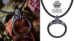RING Guardian with black diamonds - a pendant to attach you ring to make it look way better, instead of tangeling it to a simple necklace. Price with 22 Diamonds 940 CHF Chf, Black Diamonds, Simple Necklace, Fashion Bracelets, Washer Necklace, Wedding Rings, Watch, Pendant