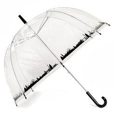 London Dome Umbrella Clear
