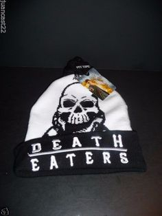 Bioworld Warner Bros Official  Harry Potter Death Eaters Beanie New With Tags #Bioworld #Beanie
