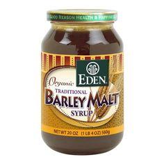 Eden Foods Organic Barley Malt Syrup -- 1.4 lbs - http://goodvibeorganics.com/eden-foods-organic-barley-malt-syrup-1-4-lbs/