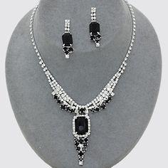Alissa Rhinestone Necklace Sets